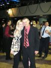Veliteľ Skalických hasičov i s manželkou.